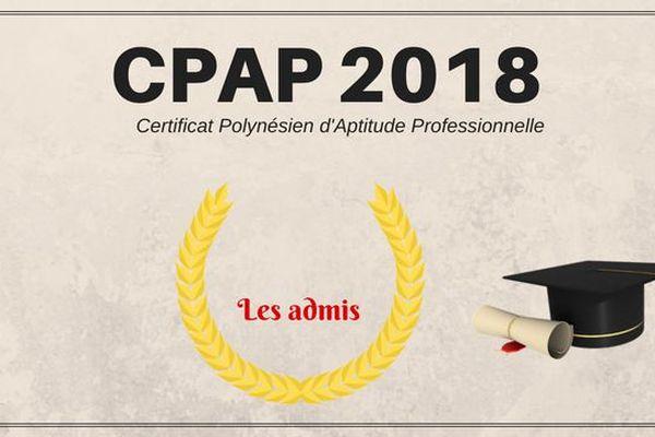 Les résultats CPAP 2018