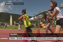 Rencontres sportives adaptées pour les enfants de l'IME Tama ora