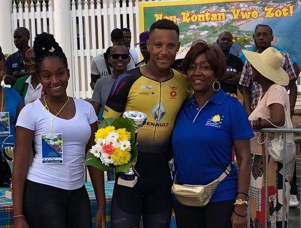 Boris Carène vainqueur en titre du Tour de la Guadeloupe