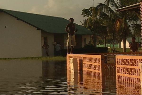 Kourou inondée