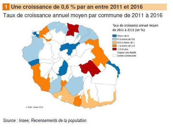 carte insee recensement à la réunion