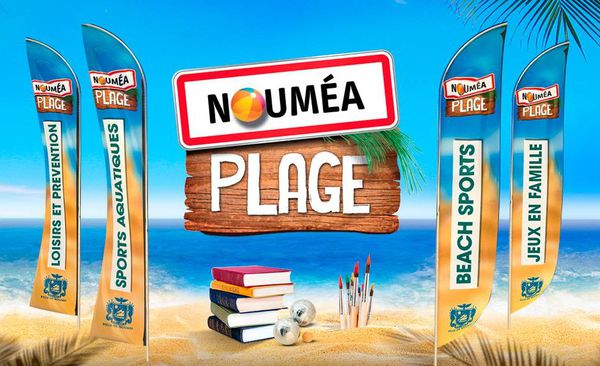 Visuel Nouméa plage 2019