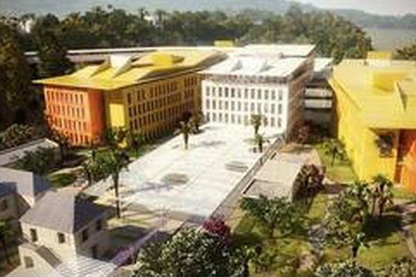 Le futur hôpital de l'ouest