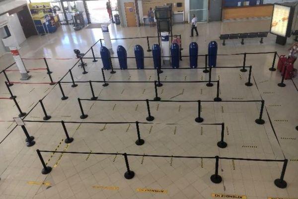 Enregistrement aéroport de Martinique