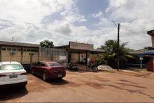 L'entrée de l'hôpital d'Oiapoque