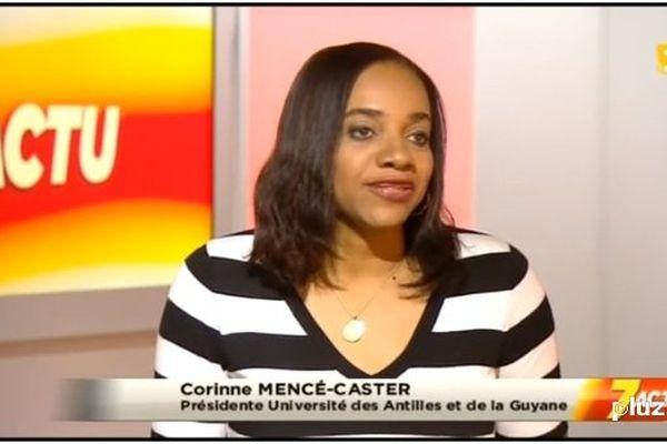 Corinne Mencé-Caster, présidente de l'UAG