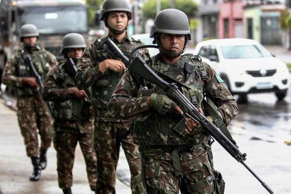 Brésil militaires