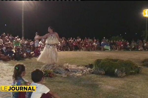 Premier festival culturel aux Gambier