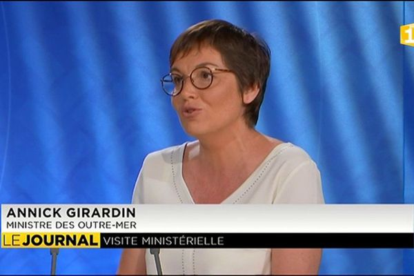 Annick Girardin dresse le bilan de sa visite