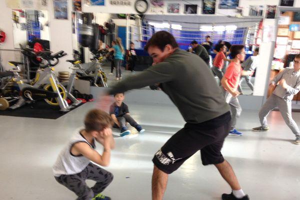 De la boxe... et des cours de russe pendant les vacances scolaires!