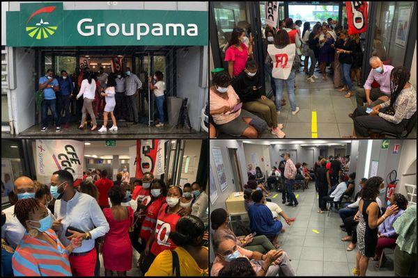 Mobilisation salariés groupama