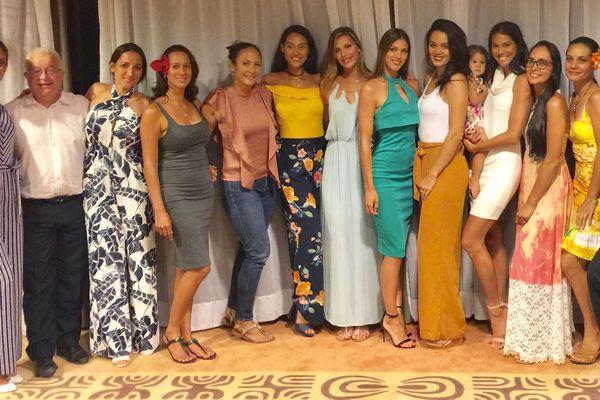 Miss Univers et Miss France à la rencontre des candidates à Miss Tahiti