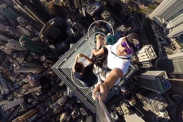Selfie hong Kong