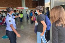 Dispositif Grand Départ à l'aéroport