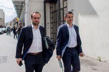 Sebastien Lecornu et Gérald Darmanin, ministres des Outre-mer et de l'Intérieur