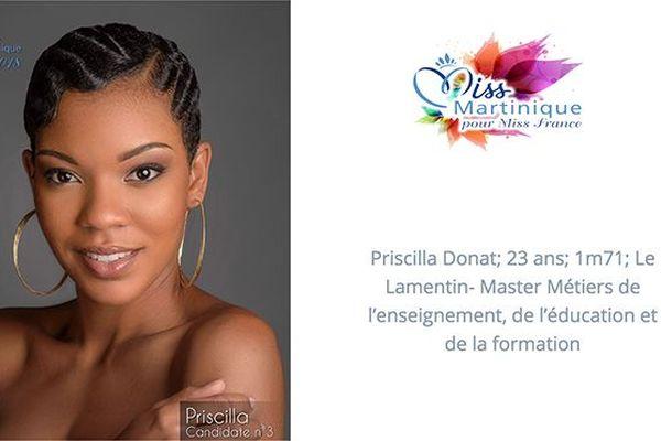 Miss 3 Priscilla Donat