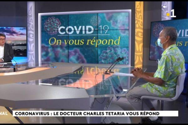 FR : Covid 19 : le Dr Tetaria répond aux internautes