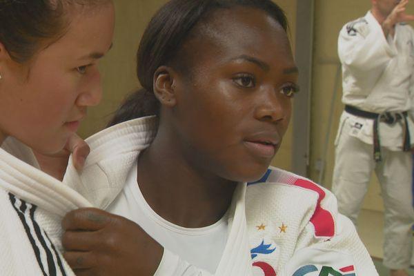 Clarisse Agbegnenou : une multiple médaillée d'or mondiale et européenne au dojo de Magenta.