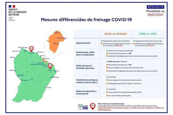 Le couvre-feu est de nouveau instauré à 20 heures à Cayenne, Matoury, Rémire-Montjoly et Macouria.
