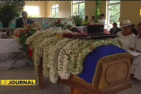 Hommage au soldat Heiarii Moana, mort du paludisme