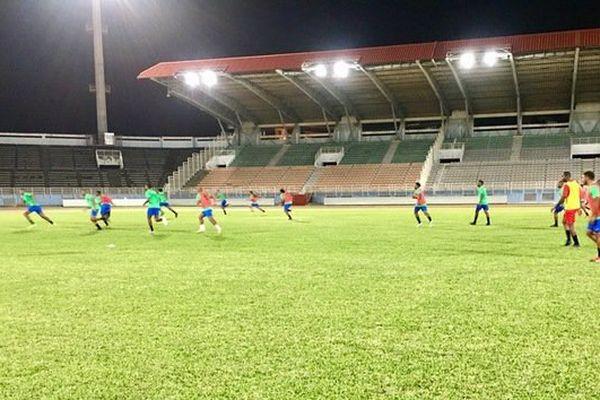 Yana Dòkò au stade Pierre Aliker