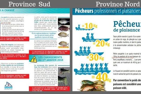 Pêche : réglementations provinciales incohérentes