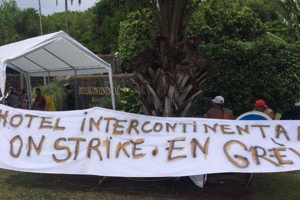 4 hôtels Intercontinental en grève