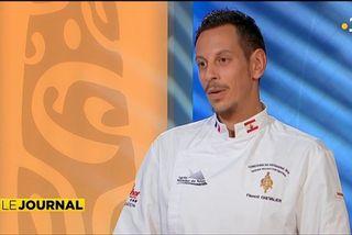 Florent Chevalier, meilleur pâtissier de Polynésie