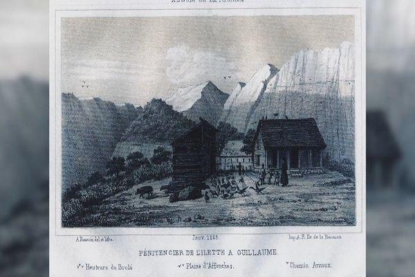 Colonie pénitentiaire de l'Ilet à Guillaume