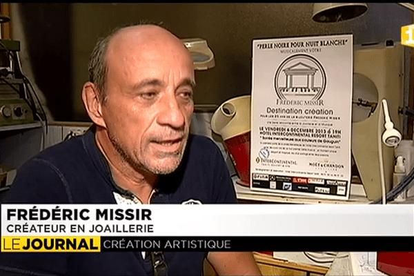 Frédéric Missir : 25 ans de joaillerie