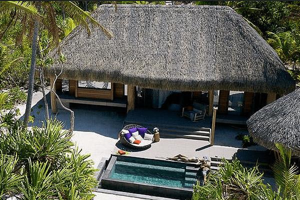 L'hôtel propose 35 villas indépendantes