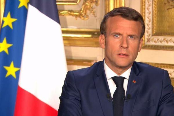 allocution Macron