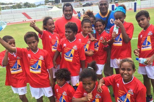 Section rugby île des Pins AS Kunié septembre 2017