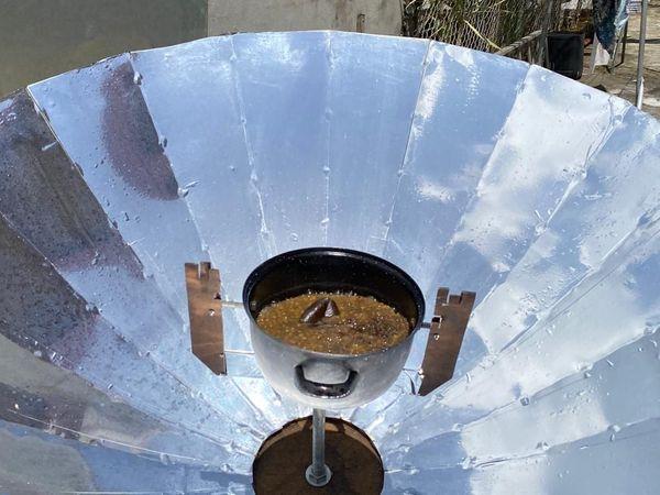 Réchaud solaire