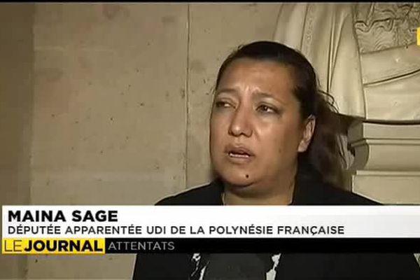 Les parlementaires Polynésiens au congrès de Versailles