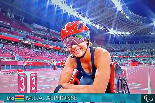 Noémie Alphonse, star mauricienne de Jeux Paralympiques