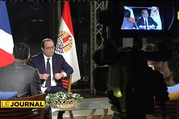 François Hollande quitte la Polynésie à regret