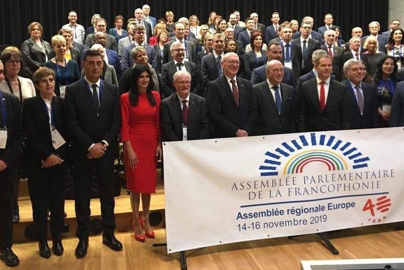 Mansour Kamardine fait entendre la voix de Mayotte l'Assemblée Parlementaire de la Francophonie en Suisse