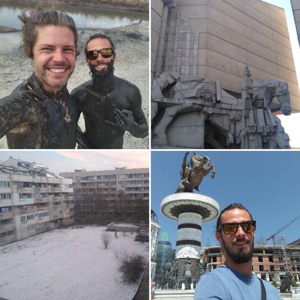 Depuis avril 2017, Joram est installé à Sofia en Bulgarie