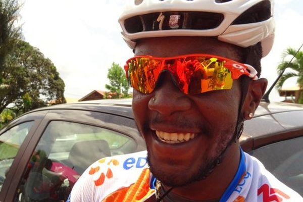 Stéphane Mérille au Grand Prix de la ville de Roura