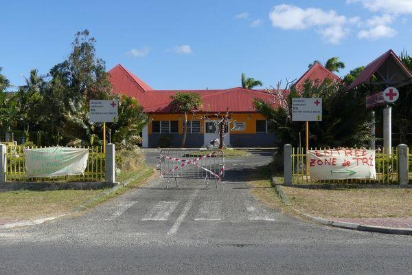 Le centre médical de Wé, à Lifou, le 8 septembre 2021. Covid