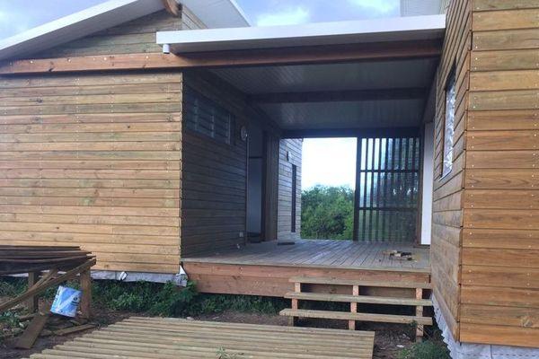 Construction bois pinus