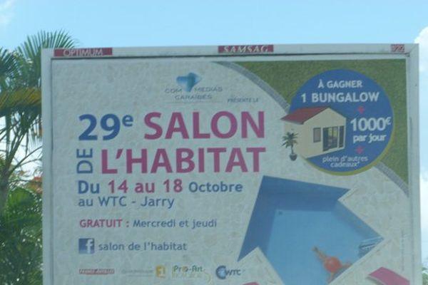 Affiche salon de l'Habitat