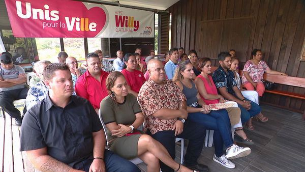 Municipales 2020 : la liste Païta de Willy Gatuhau
