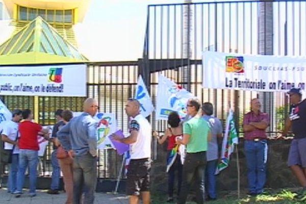 FSU en grève