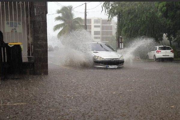 Fortes pluies à La Possession