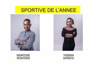 Nominées sportives 2018 : Maïmoune M'dahoma & Yasmina Saïndou