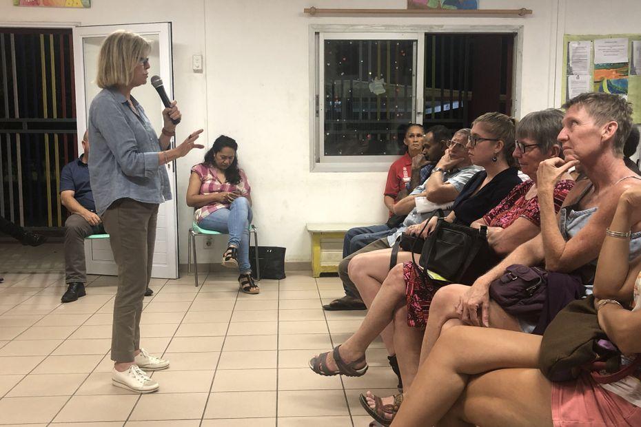 Municipales : Sonia Lagarde parle sécurité à Rivière-Salée - Nouvelle-Calédonie la 1ère