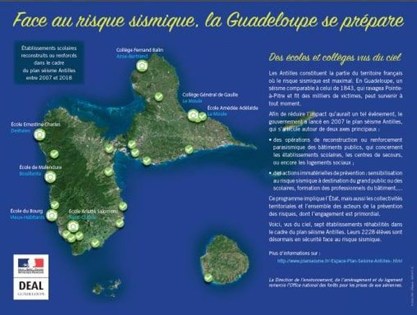 Semaine sismik la Guadeloupe se prépare