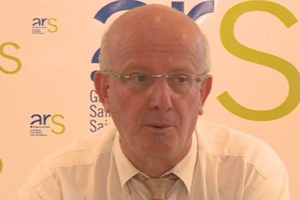 Patrice Richard ancien directeur de l'ARS Guadeloupe SBT-SXM